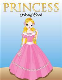 Princess Coloring Book for Girls