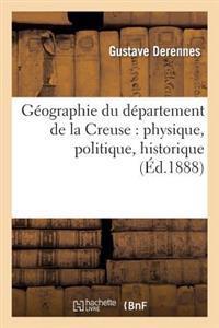 Geographie Du Departement de la Creuse