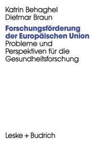 Forschungsf rderung Der Europ ischen Union