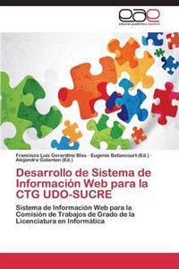 Desarrollo de Sistema de Informacion Web Para La CTG Udo-Sucre