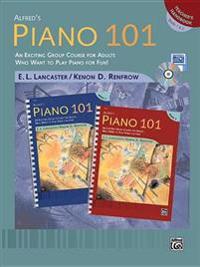 Alfred's Piano 101 Teacher's Handbook, Bk 1 & 2