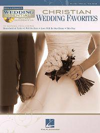 Christian Wedding Favorites [With CD (Audio)]