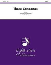Three Canzonas: Score & Parts