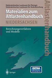 Altlastenhandbuch Des Landes Niedersachsen Materialienband