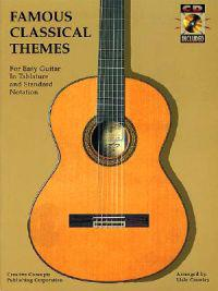 Famous Classical Themes for Easy Guitar [With CD]