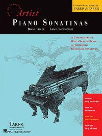 Artist Piano Sonatinas, Book Three, Late Intermediate