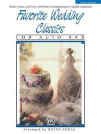 Favorite Wedding Classics: Alto Sax