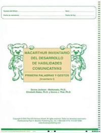 Macarthur Communicative Development Inventories CDIS
