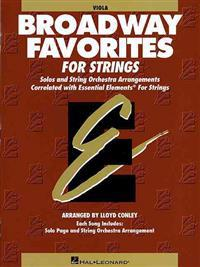 Essential Elements Broadway Favorites for Strings - Viola