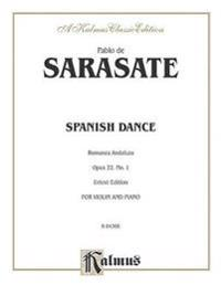 Spanish Dance, Op. 22, No. 1 (Romanza Andaluza)