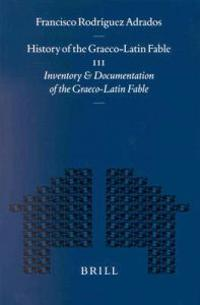History of the Graeco-Latin Fable