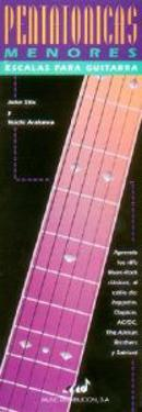 Minor Pentatonic Scales for Guitar: Spanish Edition