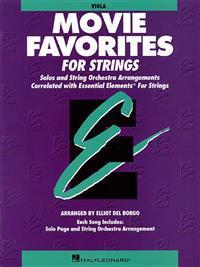 Essential Elements Movie Favorites for Strings: Viola