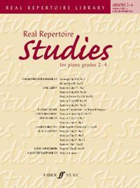 Real Repertoire Studies for Piano