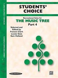 The Music Tree Students' Choice: Part 4