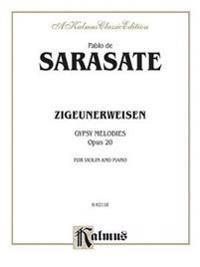 Zigeunerweisen, Gypsy Melodies, Opus 20