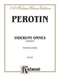 Viderunt Omnes and Sederunt: Miniature Score, Miniature Score