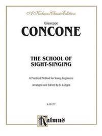 The School of Sight-Singing: Practical Method for Young Beginners (Lutgen)