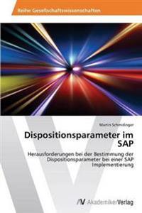 Dispositionsparameter Im SAP