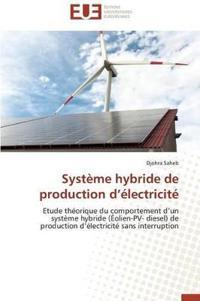 Systeme Hybride de Production D Electricite