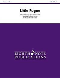 Little Fugue: For Double Reed Ensemble, Score & Parts