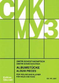 Album Pieces: Violin and Piano