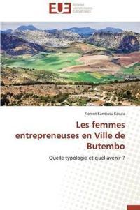 Les Femmes Entrepreneuses En Ville de Butembo
