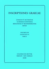 Inscriptiones Graecae