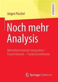 Noch Mehr Analysis: Mehrdimensionale Integration, Fouriertheorie, Funktionentheorie
