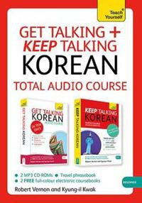 Teach Yourself Get Talking + Keep Talking Korean