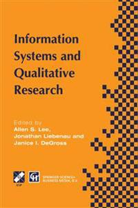 Information Systems and Qualitative Research