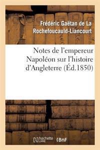 Notes de l'Empereur Napol�on Sur l'Histoire d'Angleterre, Compl�ment N�cessaire