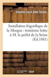 Installation Frigorifique de la Morgue