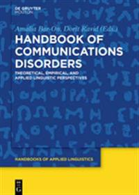 Handbook of Communications Disorders