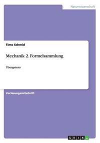 Mechanik 2. Formelsammlung