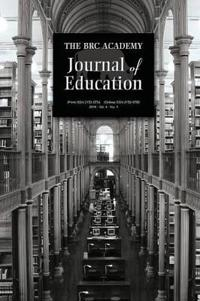 The Brc Academy Journal of Education Volume 4, Number 1