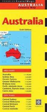 Periplus Travel Maps Australia