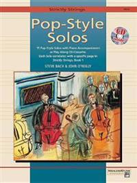 Strictly Strings Pop-Style Solos: Viola, Book & CD