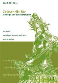 Zeitschrift Fur Indologie Und Sudasienstudien: Band 30/2013