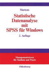 Statistische Datenanalyse Mit Spss Fur Windows