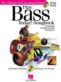 Play Bass Today! Songbook [With CD]
