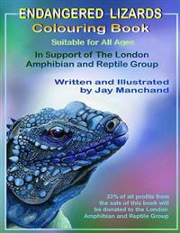 Endangered Lizards Colouring Book