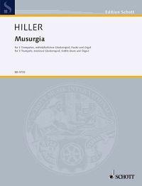 Musurgia: For Organ, 3 Trumpets in C, Medieval Glockenspiel and Kettle Drum