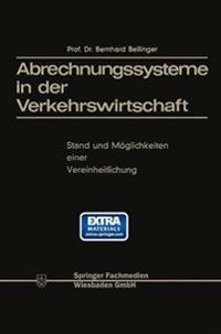 Abrechnungssysteme in Der Verkehrswirtschaft
