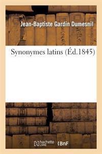 Synonymes Latins