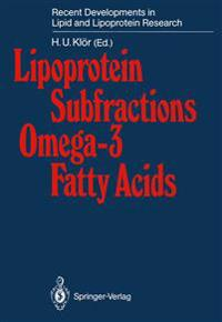 Lipoprotein Subfractions Omega-3 Fatty Acids