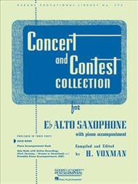 Concert and Contest Collection for Eb Alto Saxophone: With Piano Accompaniment