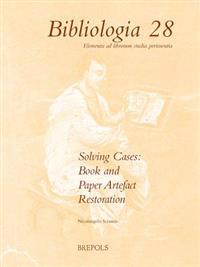Solving Cases: Book and Paper Artefact Restoration