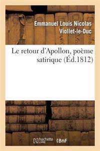 Le Retour d'Apollon, Po�me Satirique