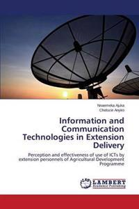 Information and Communication Technologies in Extension Delivery